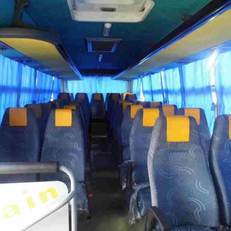 33 passenger buses- back moving chairs 4