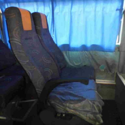 33 passenger buses- back moving chairs 6